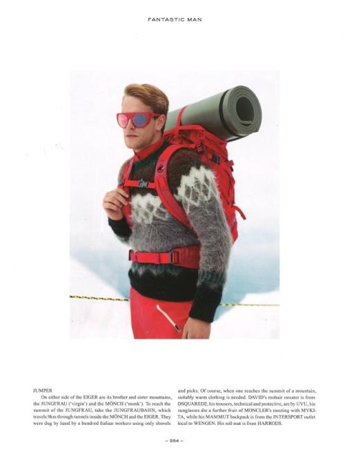 "MYKITA & MONCLER ""ACHILLE"" featured in the latest issue of Fantastic Man"
