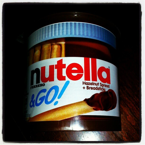 Snack time! #munchin #zooted #stayingin #nutella #hazelnut