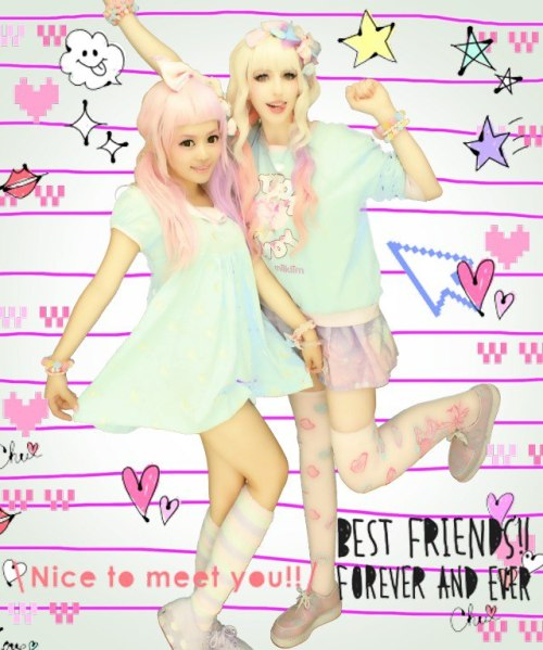 stellalee92:  Trying out Fairy Kei with my Precious Mio~!  I miss teasing you so much ; n ;And I miss you!