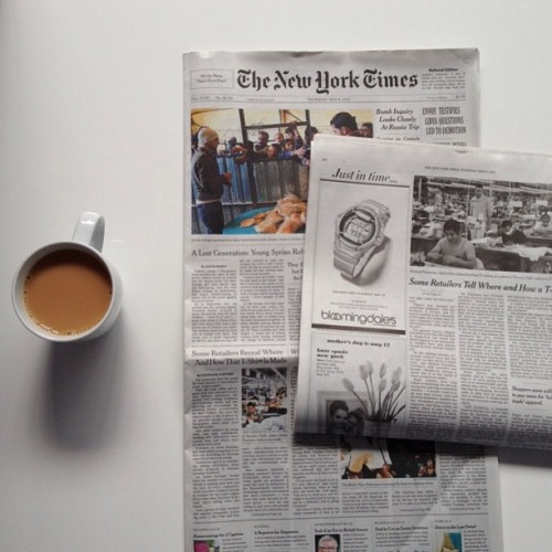 A big day for our team: Everlane on the cover of The New York Times.