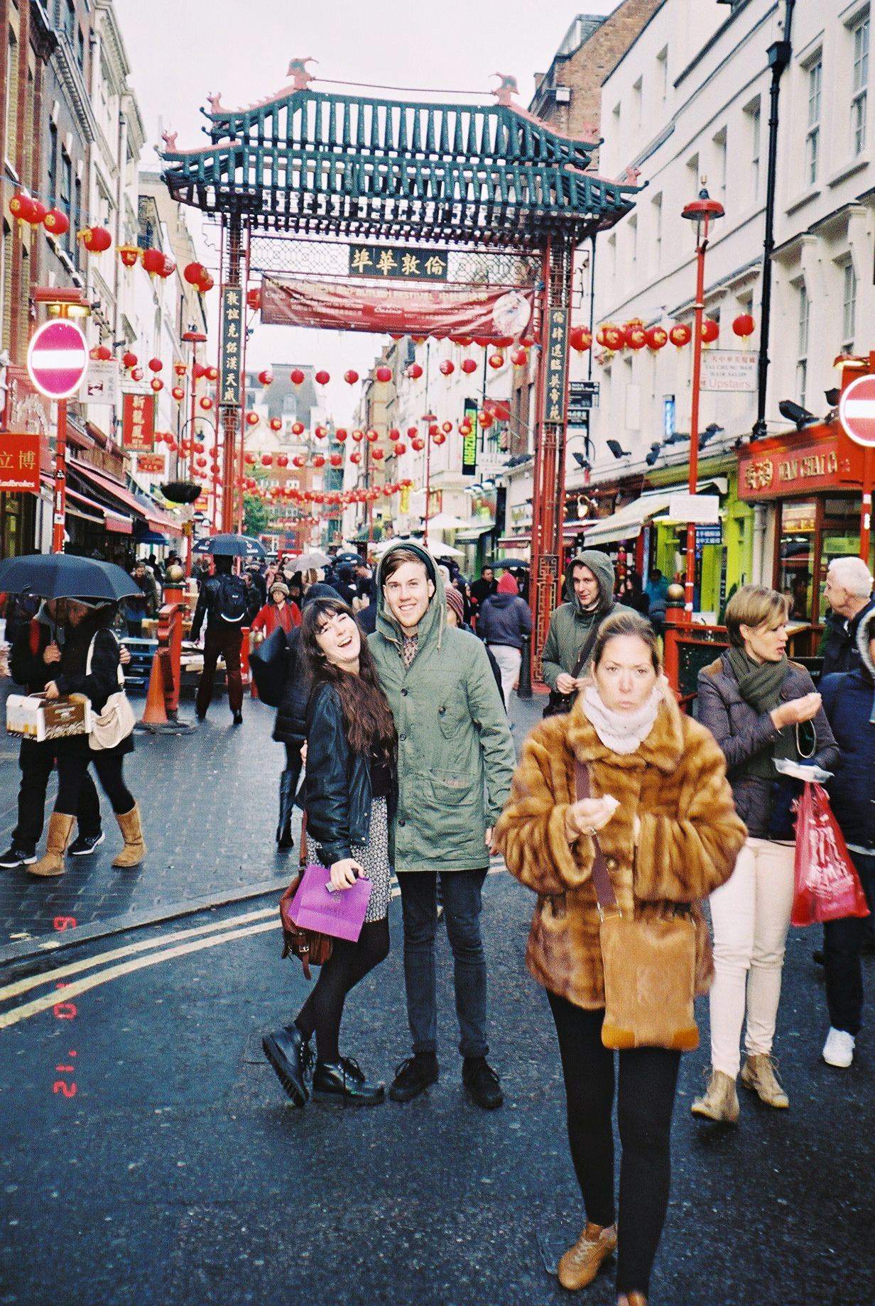 suckybl0g:  faye & adam in china town