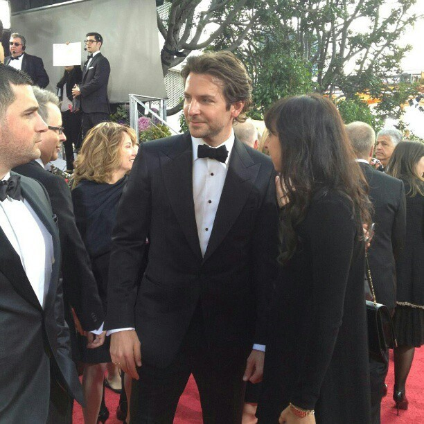 Bradley Cooper - Check out Bradley Cooper on the #GoldenGlobes #RedCarpet!