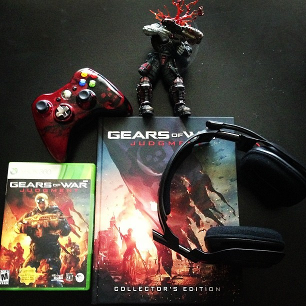 Happy #Gears day, everybody! #Judgment