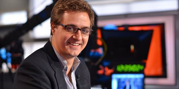Chris Hayes to Take Over 8 P.M. Show on MSNBC - NYTimes