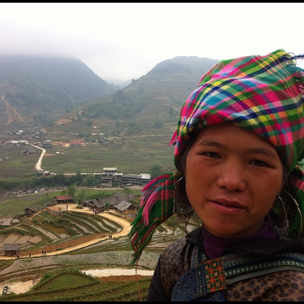 The place and people are beautiful. I am excited to return again. #sapa #vietnam #nofilter #fuckedupgood