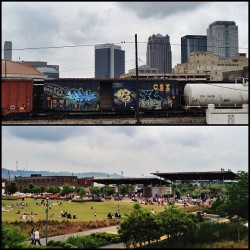 Today was a good day #RailroadPark #InstagramBham #BlockParty #BirminghamAL #Alabama