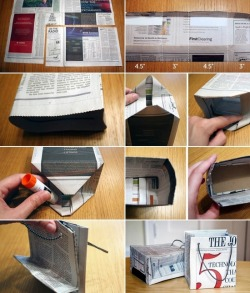 heart-shaped-happiness:   How to make a gift bag.