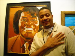 antoineft:  Chali 2na & James Brown painting (west Hollywood, 2013) Photo: A.Perkins