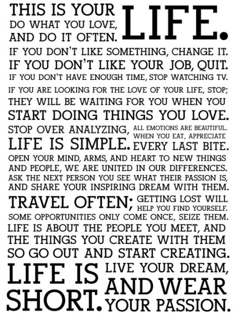 Stop, look, think and start to do… now!