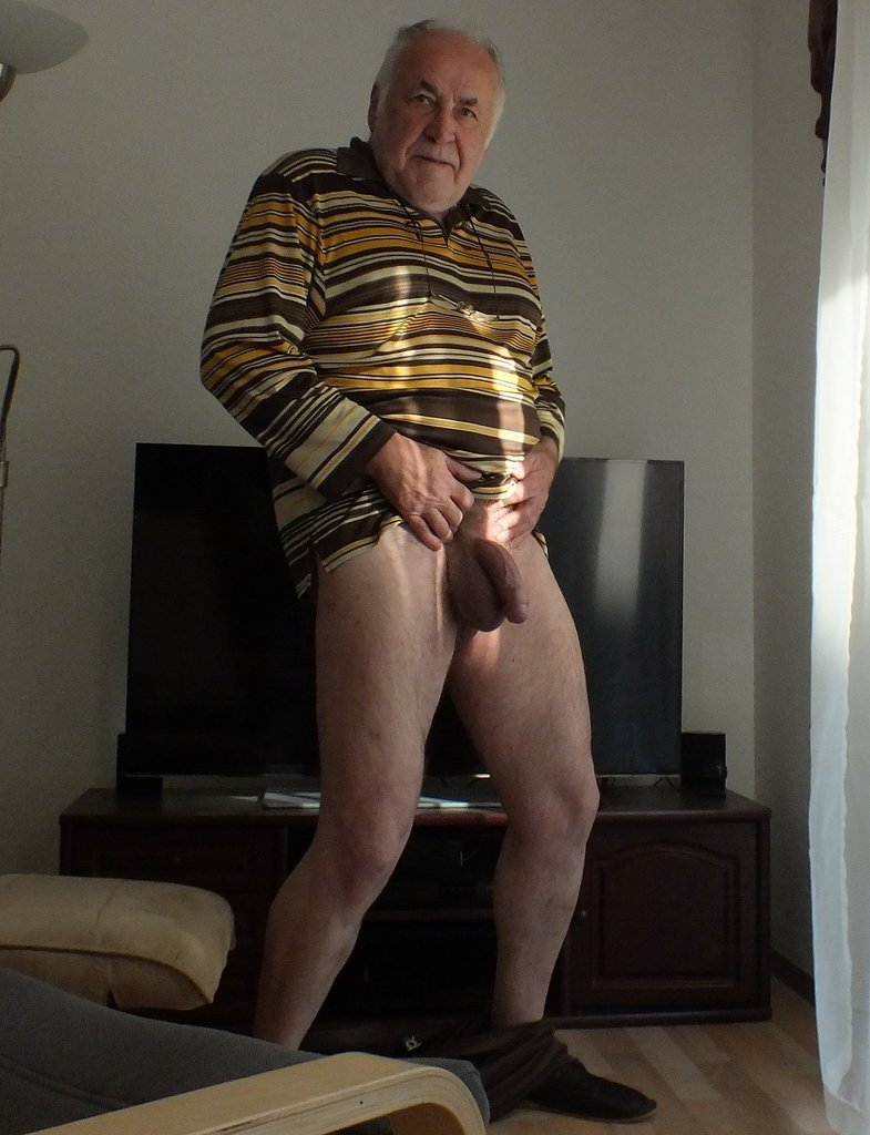 Naked Gay Grandpa 112