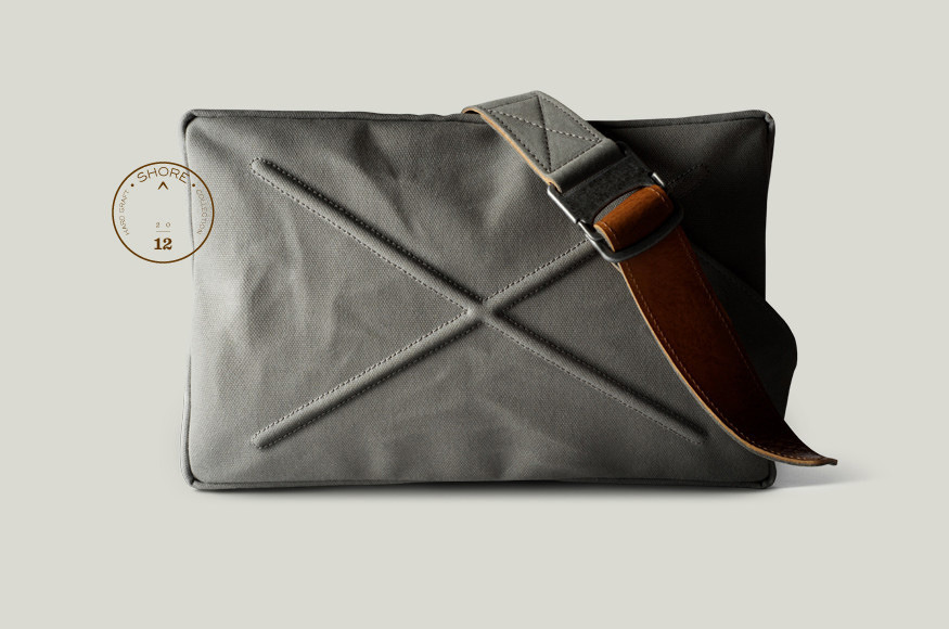 goodgreatexceptional:  Hard Graft SHORE collection document and laptop bag.