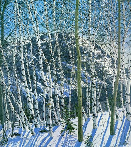 Birches - Neil Welliver (2005)