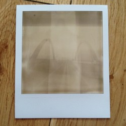 My third ever Polaroid is developed. Does anyone know why the film has different grading throughout? @boom_vintage #PolaroidOne @ImpossibleEurope #Polaroid #VintageCamera #photography #bawnphoto