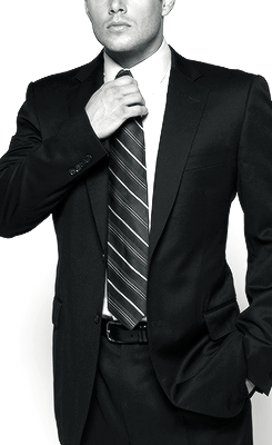B/W SPN Men in Suits Series - Dean Winchester  Now I know way…