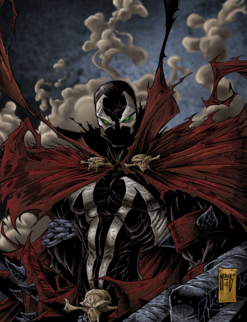 redskullsmadhouse:  Spawn
