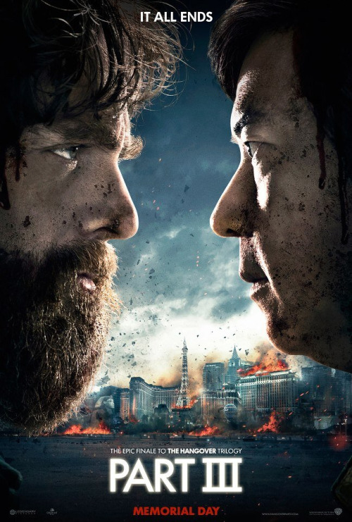 Warner Bros poster for The Hangover III has been discovered online, a funny spoof of Warner Bros' own marketing campaign for Harry Potter and the Deathly Hallows. The first trailer is set to hit the interwebs sometime tomorrow. Via[SlashFilm]