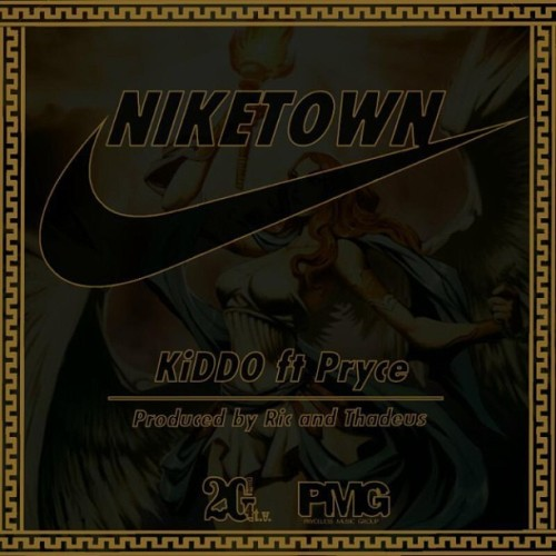 "@Kiddo2g (On Twitter) New Single ""NikeTown"" Feat. Me  Available at SoundCloud.com/2g4tv #NikeTown  #Kiddo x #Pryce  #2g4tv x #PMG"