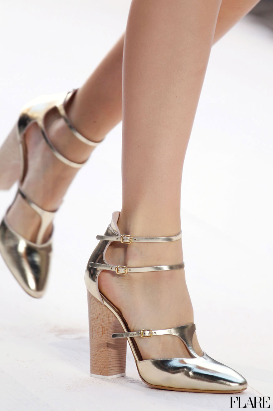 Chanel - Spring 2013 / Photographer: Anthea Simms Heels not for you? Meet 9 power flats to keep you moving.