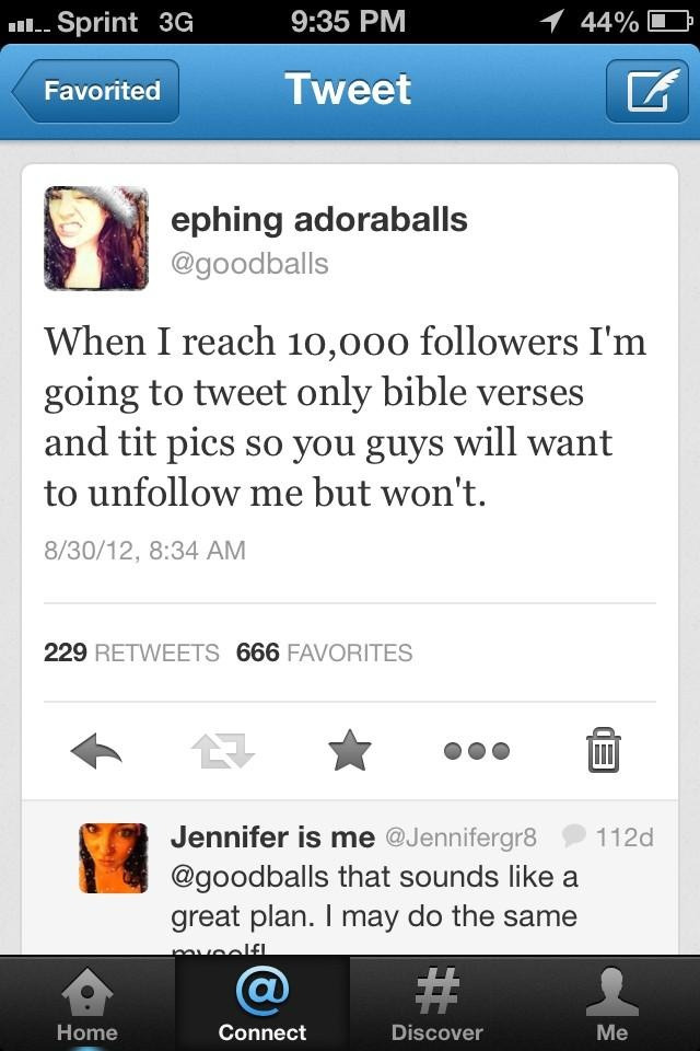 This tweet got 666 likes. I think that's a bad sign