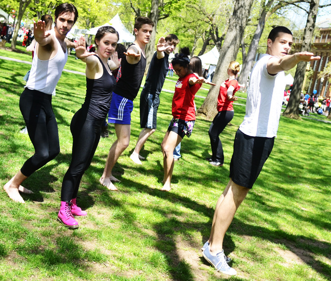 dailytargum:  Fifth annual Rutgers Day draws record crowd A record crowd of 83,000 people attended the fifth annual Rutgers Day Saturday. Participants could enjoy more than 500 different programs and activities from on campus organizations and departments. As a part of the larger celebration, Ag Field Day was held on the Cook and Douglass campuses, featuring the annual New Jersey Folk Festival, a dog show and other events closely tied into the School of Environmental and Biological Sciences. Photos by Nelson Morales, Tian Li, Lianne Ng, and Paul Solin