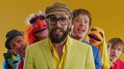 OK Go and the Electric Mayhem. Yes!