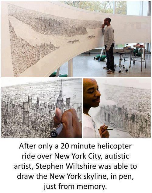 rbgstore:  Talented! Stephen Wiltshire :) http://on.fb.me/10Fa26v