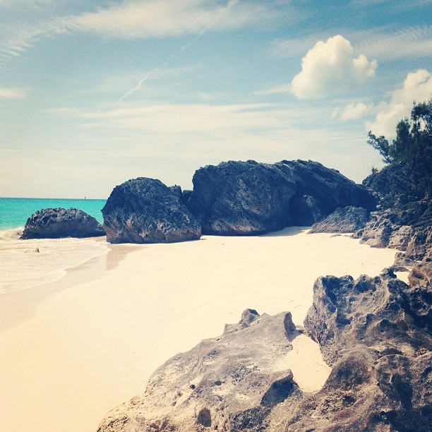 I have a knack for finding hidden beaches. #bermuda