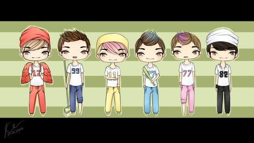 [FANART] TEEN TOP - Miss Right by foreverakpoplover
