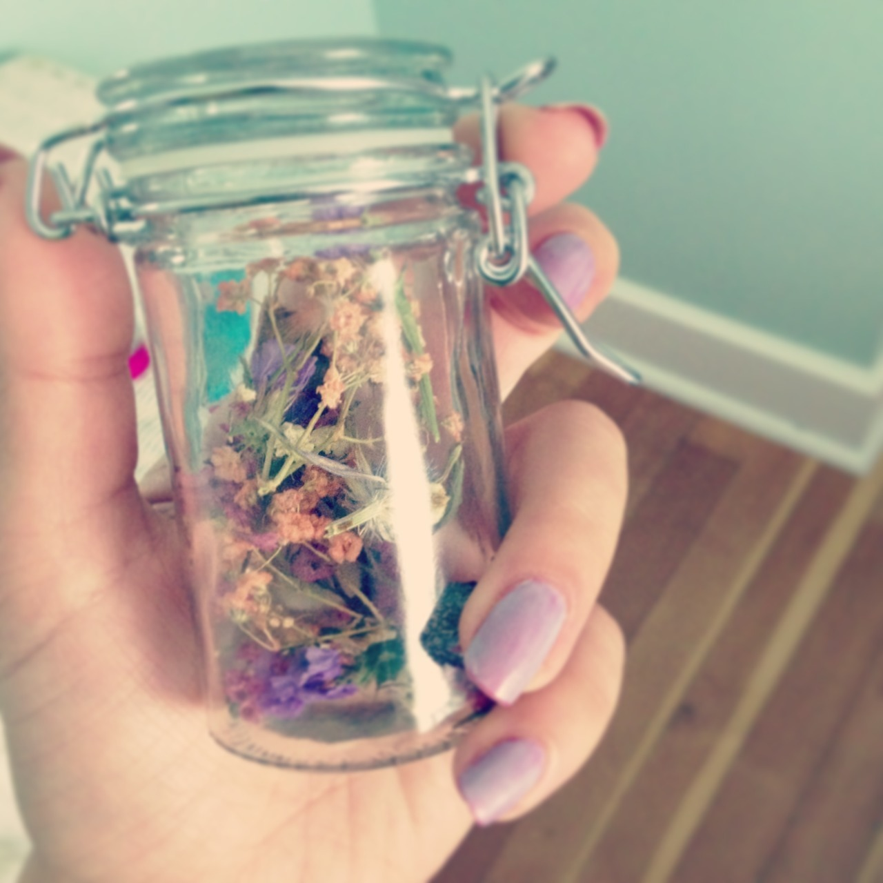 I love my lul jar full of spring