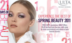 "Sunday, March 10th ULTA kicked off its ""21 Days of Beauty"" —Get daily in-store events, deals on products, and more! http://www.ulta.com/21days #ULTA21 #spon"
