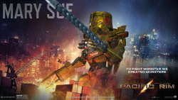 The Pacific Rim website has launched a Jaeger Designer where you can make your very own giant, monster-killing mecha. Feast your eyes on Mary Sue. Try and mansplain something to her. I dare you.