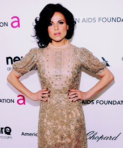 "stanley-tuccis:  Women Over Whom I Weep  ↳Lana Parrilla  ""There's something I really love about being able to show these very human emotions. And I feel that in life, when I can be that free, it allows other people to be the same. It's like saying it's okay to be human. To be vulenerable, to be raw, to virtually expose your guts, I like doing that. I don't think people are courageous enough to show what's going on. I mean it's great that I get to do it as the character, but I find, in order to be successful, you have to be able to do it in life."""