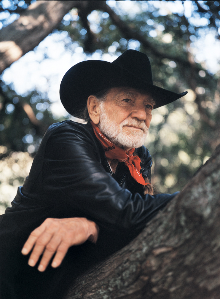 Happy 80th birthday to Willie Nelson! Here's a photo I shot of him in the San Bernardino Mountains, east of Los Angeles, in June, 2004.
