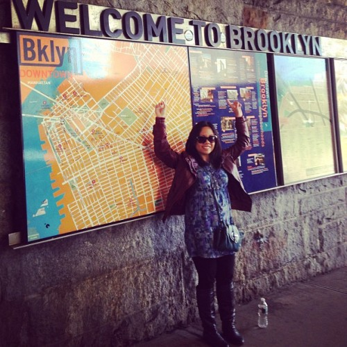 Welcome to Brooklyn! #libznyc #latergram  (at Brooklyn Bridge)