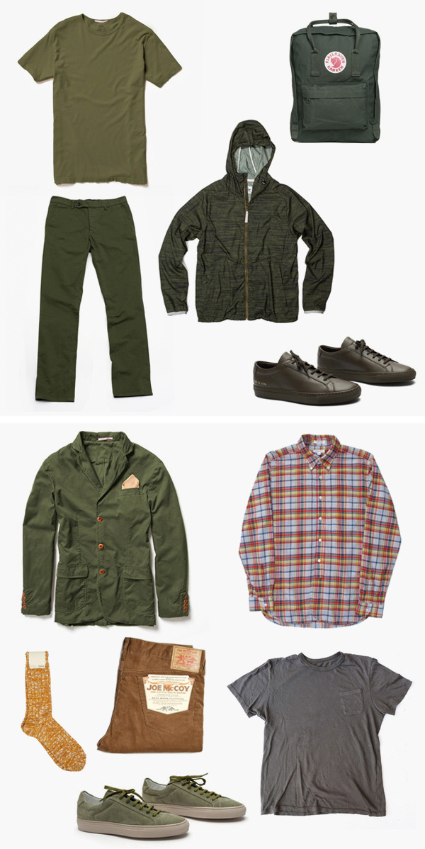free-man:  Spring Kit Nº4 – A Second Take on Army Green