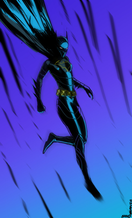 thesidekickcomplex:   Batgirl by John Osborne