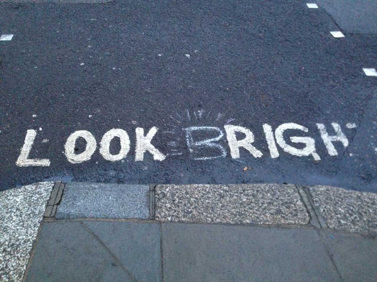 Spotted while crossing the street in London last week :)