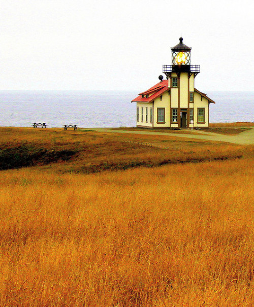 nicevisions:  Point Cabrillo Lighthouse, Mendocino, California
