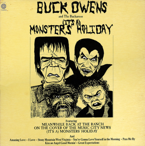 (It's A) Monster's Holiday - Buck Owens & The Buckaroos (1974) Happy Record Store Day!