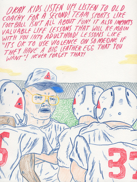 willw:  Football Lessons by Will Laren