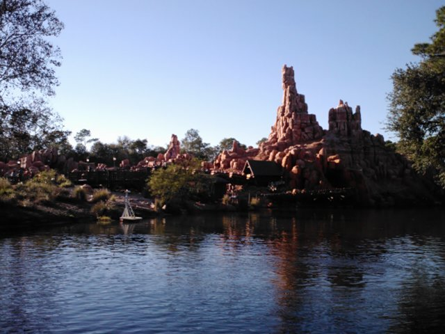 Big thunder mountain in orlando, fl.