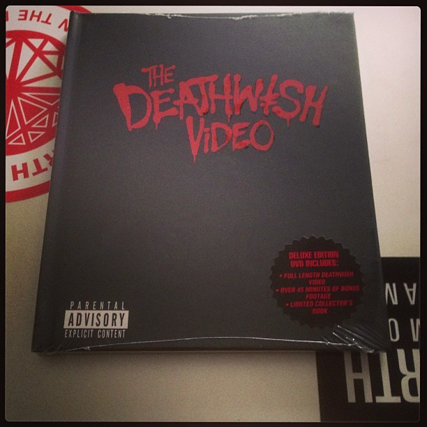jointhefamily:  Grabbed the new Deathwish video from @switchskates . Got a cuppa, lets do this. #switchskates #deathwish #jimgreco #lizardking #skateboarding #tea #dvd #fourthdiamond #jointhefamily   I'm dying for a cuppa tea and some Ellington action!