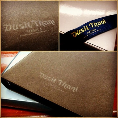 Won't be spending for my 2013 Planner thanks to #DusitThani Manila 👌 #chritmas #giveaways #planner #hotel (at Babcock-Hitachi (Phils) Inc. Marketing Office)