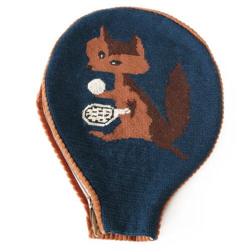 Needlepoint Fox Racquet Cover, 20% off now featured on Fab.Fab.comAt Home Modern is here to tell you that Mid-Century doesn't mean cold, sparse, or uncomfortable. This collection provides a more cheerful, eclectic view of Modern, designed to add warmth and cheer to your abode. So go ahead, dare to dip your toes into the greatest decades of design without fear of a chilly reception.