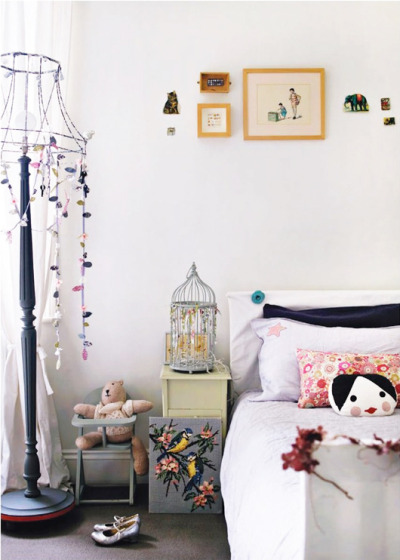 robot-heart:  Debi Treloar (via New! Sweet Paul Kids Issue | decor8)