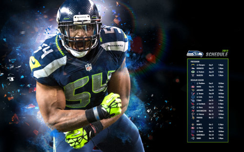 seattleseahawksnfl:  THE SCHEDULE HAS BEEN RELEASED!! (Photo by Seattle Seahawks)