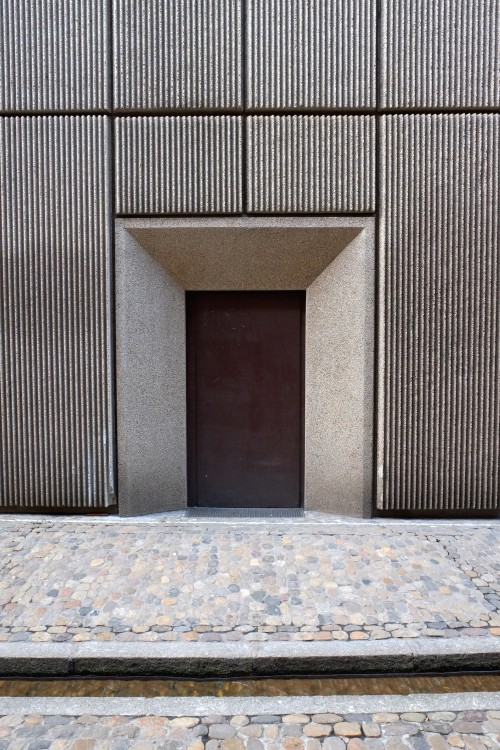 scavengedluxury:  Brutalism and Bächle. Freiburg, March 2013.
