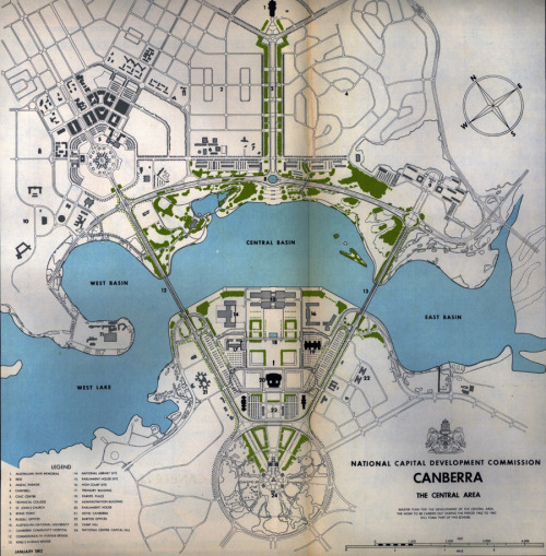 archimaps:  Map of Canberra, 1962