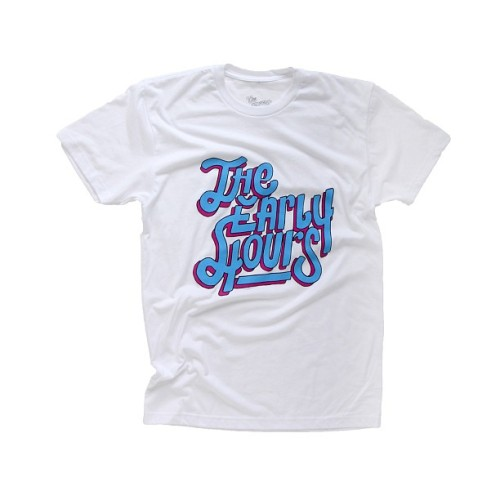 The Early Hours Spring/Summer '13 tees are online now at TheEarlyHoursClothing.com | #theearlyhours | Never Hesitate, Never Surrender