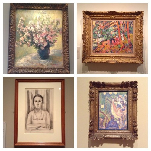 Some of my favorite works from the Courtauld Gallery yesterday #art #london #picstitch